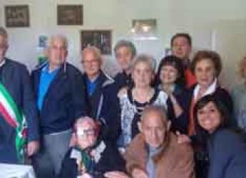 Forlì. Anna Pellegrini compie 100 anni, grande festa a Villagrappa.