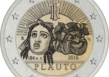 Sarsina. Domani la presentazione della moneta da 2 euro che commemora Plauto.