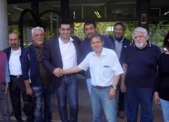 Ravenna. Asppi incontra il candidato sindaco Michele De Pascale.