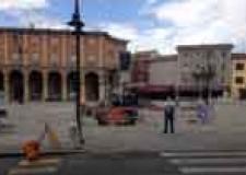 Santarcangelo. Lavori pubblici. Interventi di manutenzione della pavimentazione di piazza Ganganelli. Si sposta il mercato.