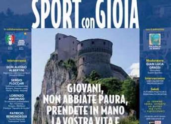San Leo. Pietracuta. Al teatro comunale tanti ospiti di fama nazionale per la 10ma edizione di 'Sport con gioia'.