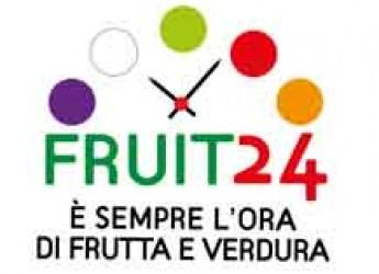 Italia. Fruit24, programma d'informazione e promozione per il consumo di alimenti di stagione.