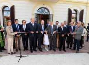Forlì. Meldola. Il ministro Poletti inaugura la casa accoglienza San Giuseppe 'Antonio Branca'.