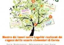 Cervia. Aperta la mostra 'I frutti della legalità' con i lavori realizzati dalle scuole elementari.
