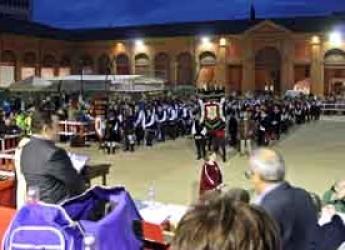 Lugo. La Contesa Estense protagonista del primo week end nel centro storico.