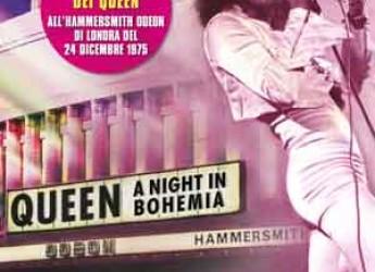 Italia. Negli UCI cinema il leggendario concerto 'Queen a night in Bohemia'.