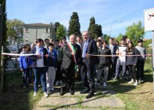 Roncofreddo. Inaugurato il rigenerato parco di via Don Minzoni.