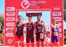 Rimini. Michelangelo parmigiani e Federica Parodi vincono le gare sprint di triathlon.