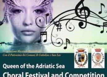 San Leo. Concorso corale 'Regina del mare Adriatico'. Concerto di musica sacra nella suggestiva cornice del Duomo.