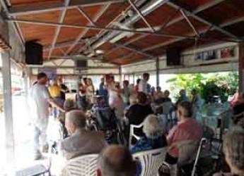 Ravenna. 'Insieme per un giorno': una festa per gli ospiti di 15 case residenze anziani e centri diurni.