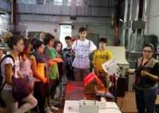 Bassa Romagna. I vincitori dell'Energy Clip in visita al Tecnopolo di Faenza.