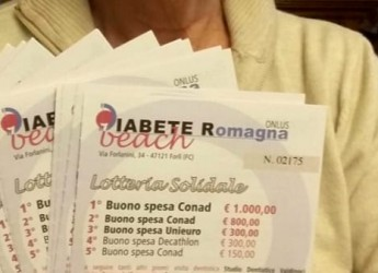 Forlì. Ritorno Diabete Beach, la lotteria solidale del diabete. 7 settembre estrazione dei biglietti.