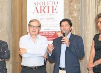 Spoleto. Gran successo per la mostra 'Spoleto Arte' di Vittorio Sgarbi.
