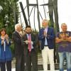 Lugo. Sabato 11 giugno. Inaugurata la rotatoria della stazione.