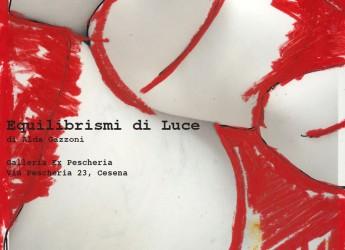 Cesena. Inaugurazione della mostra 'Equilibrismi di luce', sabato 11 giugno. Alla galleria ex Pescheria.