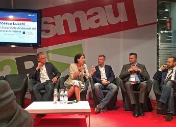 Cesena. 13 giugno 2016. Premio innovazione Smau consegnato a Francesca Lucchi.