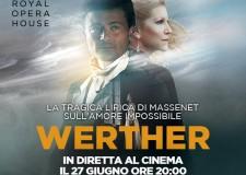 Savignano sul Rubicone. All'Uci va in scena Werther, il dramma di Goethe in diretta dalla Royal Opera House.