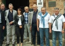Massa Lombarda. Delegazione in vista a Marmirolo. Inviata da Mantova.