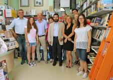 Lugo. Impresa comune, visita alla cartolibreria Alfabeta. Venduti oltre 60mila libri.