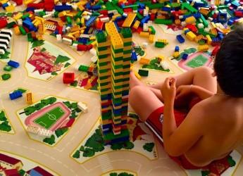 Rimini. Successo a Rimini Terme per i mattoncini Lego. Lunedì 20 giugno.