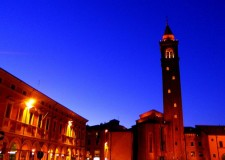 Cesena. Piazza della Libertà. Concorso di idee per l'area giochi e visite archeologiche guidate notturne.