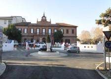 Riccione. Sono in corso i lavori stradali in prossimità dell'ospedale 'Ceccarini'.