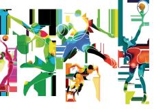 Ravenna. Festa provinciale dello sport. Palazzo dei Congressi. sabato 25 giugno.