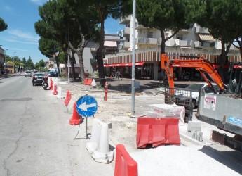 Rimini. Via Marecchiese. A breve si svolgeranno i lavori di riasfaltatura.