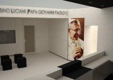 Belluno. Canale d'Agordo. Inaugurazione ufficiale del 'Museo Albino Luciani'.