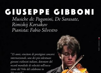 San Leo. Il prodigo Giuseppe Gibboni al San Leo Festival 2016.