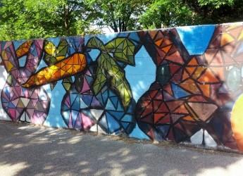 Ravenna. 'Un tocco d'arte in darsena': nuovi murales realizzati dagli studenti.