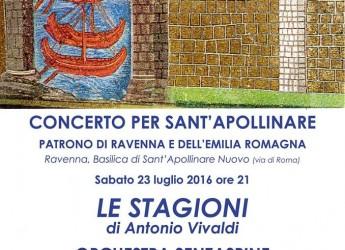 Ravenna. Torna il concerto per Sant' Apollinare con le stagioni di Vivaldi.