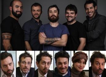 Rimini. Conferenza con gli attori e gli autori de 'Il terzo segreto di satira'.