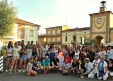 Sant' Agatasul Santerno. Una delegazione francese in vista. Tour in Romagna.