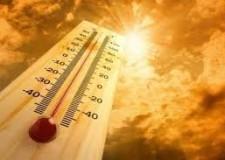 Cesena. Temperature in aumento. Attenzione fino alle 20 del 12 luglio.