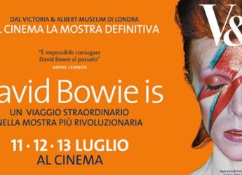 "Savignano sul Rubicone. All'Uci Cinema arriva ""David Bowie is""."