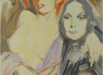 SAN MARINO. Donazione agli Istituti culturali. Opera pittorica di Giuseppe Tampieri.