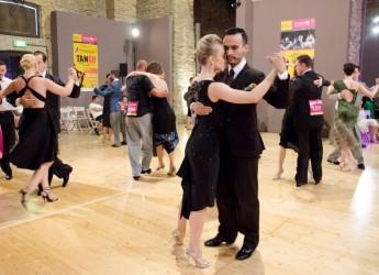 Cervia. Magazzini del sale. Campionato di tango con la presenza di Andrea Corsini.