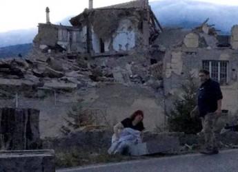 Terremoto nel Centro Italia. I soccorsi. I primi bilanci. Sisma ' avvertito' fin  a Rimini e Ravenna.