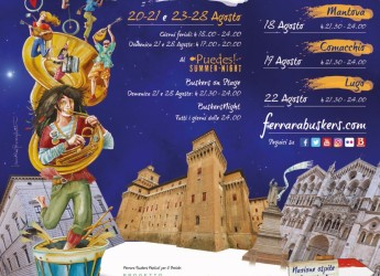 Il 22 agosto tornano a Lugo i musicisti di strada con il Ferrara Buskers Festival.