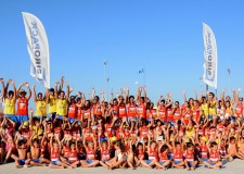 Cesenatico. Beach volley protagonista dei riviera beach games 2016.