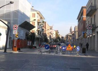 Cesena, Fino al 12 settembre a senso unico alternato via Cavalcavia, viale dei Pini