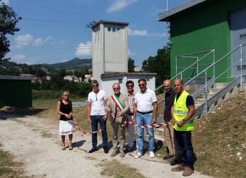 A Novafeltria un impianto idrico per circa 5.000 abitanti.