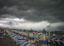 Cesena. Allerta della protezione civile. Piogge intense.