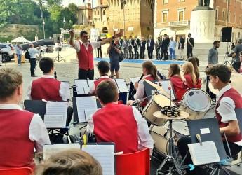 La banda giovanile di Kulmbach Jugendkapelle è tornata a Lugo