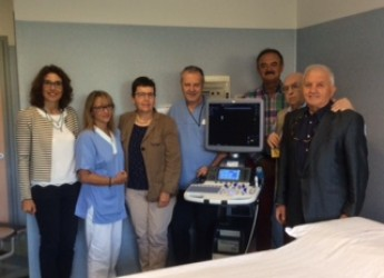 A Guastalla è arrivato un ecografo di ultima generazione grazie alla donazione dell'Associazione Prevenzione Tumori