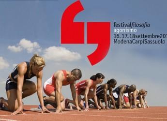 Modena, al via il Festivalfilosofia 2016: l'epoca dell'agonismo