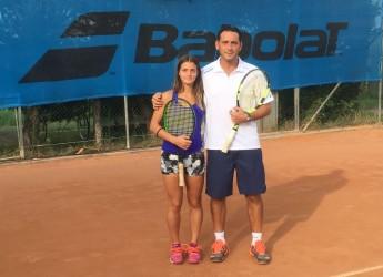 Tennis, parte bene la collaborazione tecnica tra il tecnico ravennate Andrea Ciceroni ed Angelica Raggi.