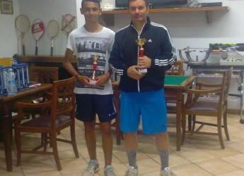 Bernardino Albertazzi e Giulia Dalla Valle sono i vincitori del torneo di 4° categoria organizzato dal Tennis Club Piangipane