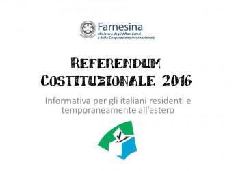 Faenza, come possono votare i cittadini all'estero per il Referendum costituzionale del 4 dicembre 2016?